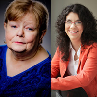 Tamora Pierce and Rachel Hartman in Conversation with Lish McBride