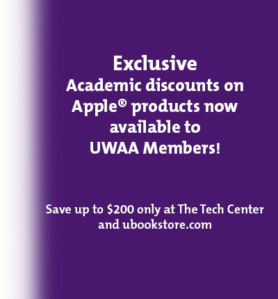 Exclusive Apple discounts for UW Alimni