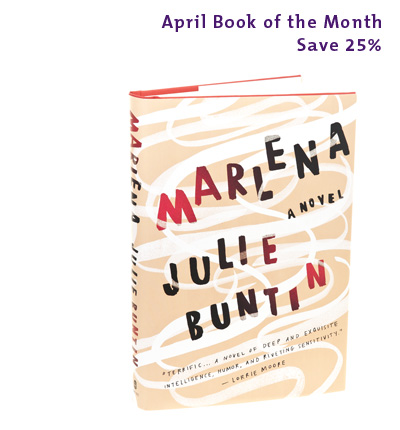 April Book of the Month: Marlena by Julie Buntin