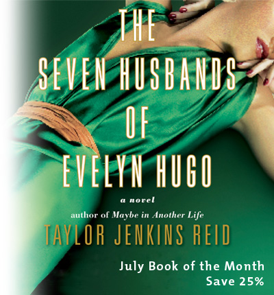June Book of the Month: The Seven Husbands of Evelyn Hugo by Taylor Jenkins Reid