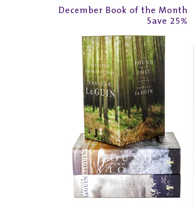 December Book of the Month: The Selected Short Fiction of Ursula K. Le Guin Boxed Set