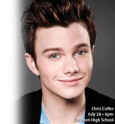 Chris Colfer July 28
