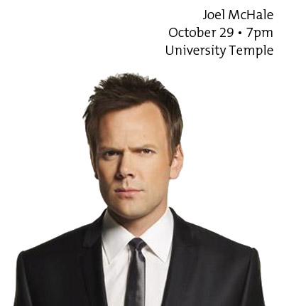 Joel McHale - October 29