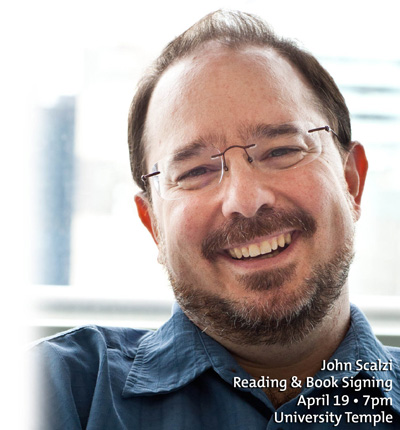 John Scalzi - April 19