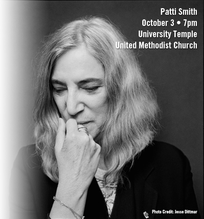Patti Smith - October 3