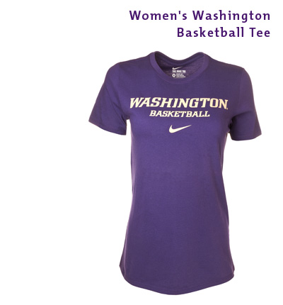 Women's Washington Basketball Tee
