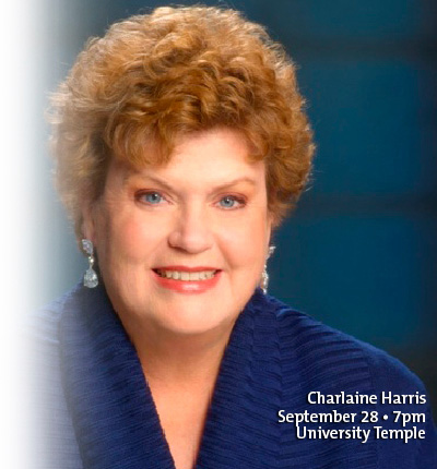 Charlaine Harris - September 28